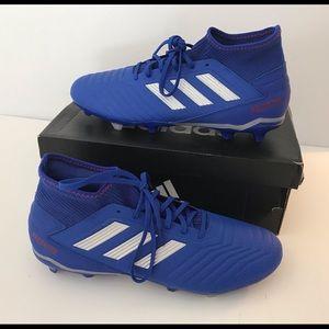 Men's Predator 19.3 Soccer Shoe - Blue - 11.5